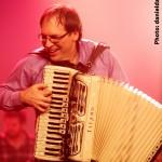 Le chanteur et accordéoniste Blou.
